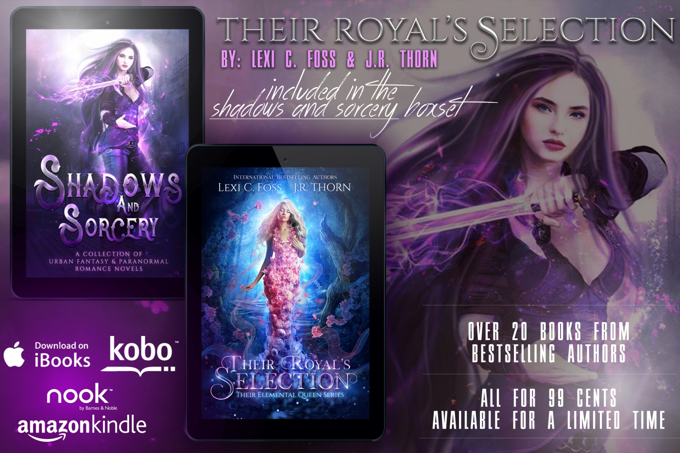 Royal Fae are Coming… – Author J R  Thorn